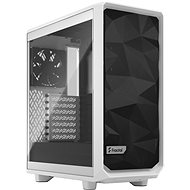 Fractal Design Meshify 2 Compact White TG Clear - PC skrinka