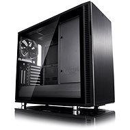 Fractal Design Define R6 Blackout Tempered Glass - Počítačová skriňa