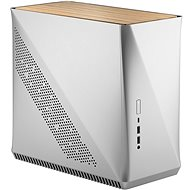 Fractal Design Era ITX Silver – White Oak - PC skrinka