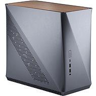 Fractal Design Era ITX Titanium Gray – Walnut - PC skrinka