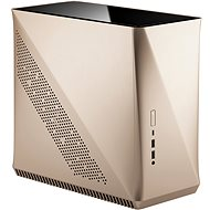 Fractal Design Era ITX Gold Tempered Glass - PC skrinka