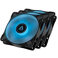 ARCTIC P12 PWM PST RGB 0 dB Value pack (3 ks) Black