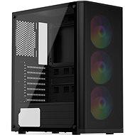 SilentiumPC Ventum VT2 EVO TG ARGB Black - PC skrinka