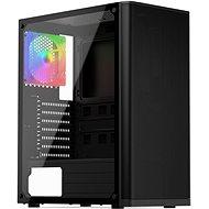 SilentiumPC Ventum VT2 TG ARGB Black - PC skrinka