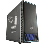 Cooler Master MasterBox E500L modrá - Počítačová skriňa