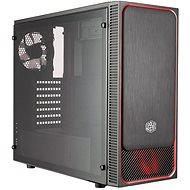 Cooler Master MasterBox E500L červená - Počítačová skriňa