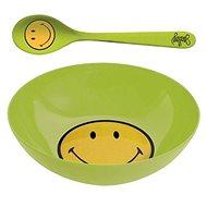 ZAK Snídaňový set SMILEY 17cm, zelený - Súprava