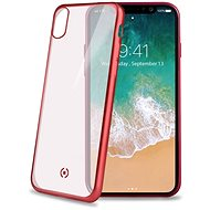 CELLY Laser pre iPhone X červený - Kryt na mobil