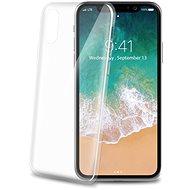 CELLY Ultrathin pre Apple iPhone X biely - Ochranný kryt