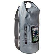 """CELLY Explorer 10 l s kapsou na telefón do 6,2"""" sivý - Vak"""
