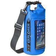 """CELLY Explorer 2 l s kapsou na telefón do 6,2"""" modrý - Vak"""