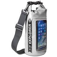 """CELLY Explorer 2 l s kapsou na telefón do 6,2"""" sivý - Vak"""