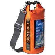 """CELLY Explorer 2 l s priečinkom na telefón do 6,2"""" oranžové - Vak"""