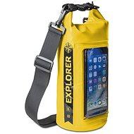 """CELLY Explorer 2 l s kapsou na telefón do 6,2"""" žltý - Vak"""