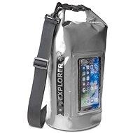 """CELLY Explorer 5 l s kapsou na telefón do 6,2"""" sivý - Vak"""