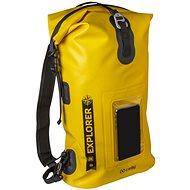 """CELLY Explorer 20L s kapsou na mobilní telefon do 6.5"""" žlutý - Vak"""