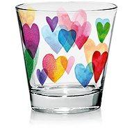 CERVE Sada sklenic 250 ml 6 ks LOVE RAINBOW