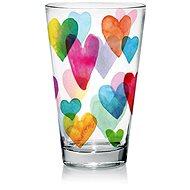 CERVE Sada sklenic 310 ml 6 ks LOVE RAINBOW