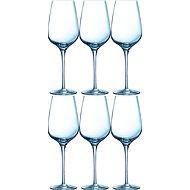 CHEF & SOMMELIER Poháre na víno 450 ml 6 ks SUBLYM - Súprava pohárov