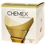 Chemex Square Paper Filters - Natural - 6, 8, 10 Cups - Kávové filtre