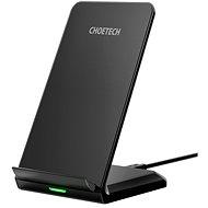 ChoeTech Wireless Fast Charger Stand 10 W Black - Bezdrôtová nabíjačka