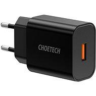 ChoeTech Quick Charge 3.0 USB 18 W Black - Nabíjačka do siete