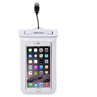 ChoeTech Waterproof Bag for Smartphones White - Puzdro na mobil