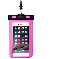 ChoeTech Waterproof Bag for Smartphones Pink - Puzdro na mobil