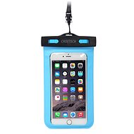ChoeTech Waterproof Bag for Smartphones Blue - Puzdro na mobil