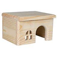 Trixie Domček s rovnou strechou pre škrečky 15 × 12 × 15 cm