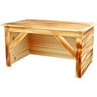 Trixie Drevený dom opaľované drevo pre králiky 50 × 26 × 31 cm - Domček pre hlodavce