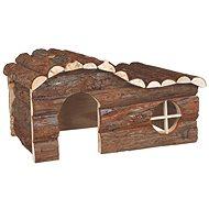 Trixie Drevený dom Hanna pre králika 43 × 22 × 28 cm - Domček pre hlodavce