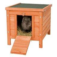 Trixie Drevený domček Natura pre králika 60 × 47 × 50 cm - Domček pre hlodavce