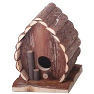 Huhubamboo Domček prírodné srdce - Domček pre hlodavce