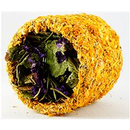 Ham Stake HL bylinný tunel s nechtíkom a slezom 9 cm - Doplnok stravy pre hlodavce