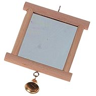 Karlie - Zrkadlo so zvončekom, 13 × 10 cm - Hračka pre hlodavce