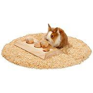 Karlie - Interaktívna drevená hračka, 30 × 15 × 6 cm - Hračka pre hlodavce