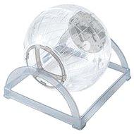 Zolux Cvičná guľa 2 v 1 sivá 18 cm - Hračka pre hlodavce