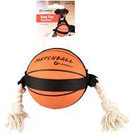 Flamingo Akčná lopta basketball 12,5 cm - Hračka pre psov