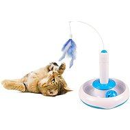 Flamingo - Interaktívna hračka, 18 × 18 cm - Interaktívna hračka pre mačky