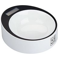 M-Pets YUMI Smart Bowl with Scale, White - Dog Bowl