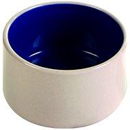 Trixie Miska keramická s glazúrou béžová/modrá 100 ml/7 cm - Miska pre hlodavce
