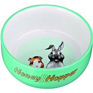 Trixie Honey & Hopper pre morča a králika 250 ml/11 cm - Miska pre hlodavce