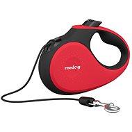 Vodítko Reedog Senza Premium samonavíjacie vodítko S 12 kg / 5 m lanko / červené