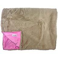 Doodlebone Luxusná mäkká deka Pink - Deka pre psa