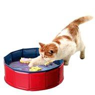 Karlie-Flamingo - Bazénik s 3 hračkami, 30 × 10 cm - Bazén pre mačky