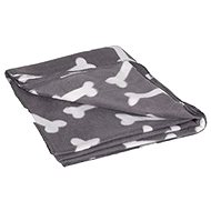 Karlie-Flamingo Fleecová deka sivá kosť 150 × 130 cm - Deka pre psa