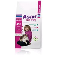 Asan Cat Pure Family 45 l - Podstielka pre mačky