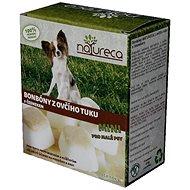 NATURECA Bonbóny z ovčieho tuku s cesnakom Mini 250 g - Doplnok stravy pre psov