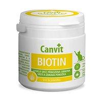 Canvit Biotin pre mačky 100 g - Doplnok stravy pre mačky